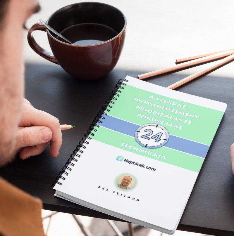 Feladat- és időmenedzsment könyv