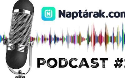 Megjelent a Naptárak.com 1. podcast adása