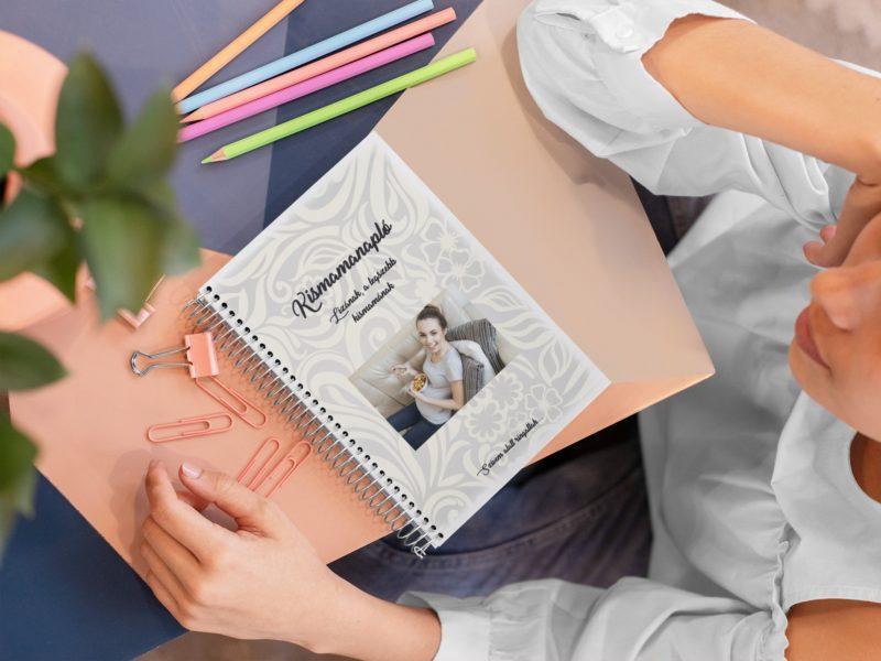 Kismama napló borító maternity