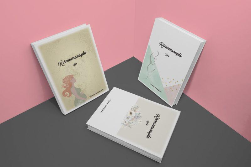 Kismama napló borítók