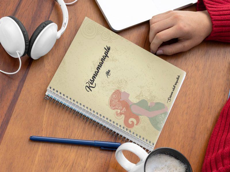 Kismama napló maternity borító