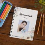 Kismama napló blossom fotós borító