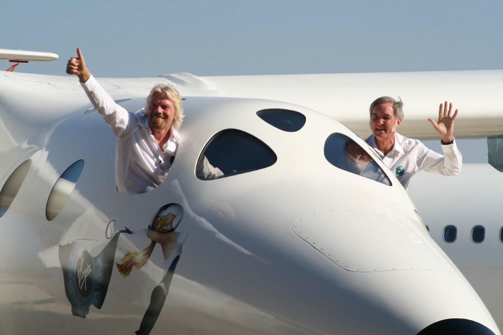 Richard Branson az űrben